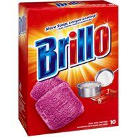 Armaly 23310 Brillo Steel Wool Soap Pads Red 10ct