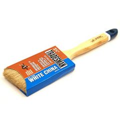 Arroworthy Tradesman White China Angle Sash Brush