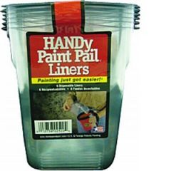 Bercom 2520-CT Handy Paint Pail Liner 6Pk