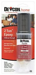 Devcon 31345 1 oz. Clear 2 Ton Dev-Tube Epoxy