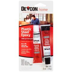 Devcon 52345 1 oz. Tube Plastic Steel Epoxy