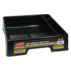 Dynamic HZ020150 3.7Qt (3.5L) Pro Series Floor Tray w/Side Pockets