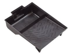Dynamic HZ020400 2QT (2L) Plastic Paint Tray - Black