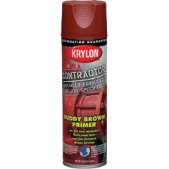 Krylon 5874 17 oz. Ruddy Brown Primer Contractor Spray