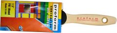 "Proform C2.5BS 2.5"" Contractor Straight Cut Brush w/ Beavertail Handle"