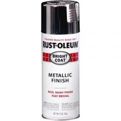 Rust-Oleum 7718830 11 oz. Chrome Bright Coat Metallic Stops Rust Spray