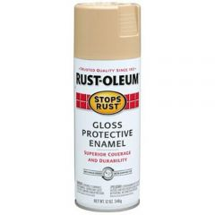 Rust-Oleum 7771830 12 oz. Gloss Sand Stops Rust Spray