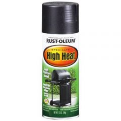 Rust-Oleum 7778830 12 oz. BBQ Black High Heat Specialty Spray Enamel