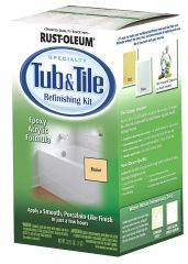 Rust-Oleum 7862519 Qt Biscuit Tub & Tile Refinishing Two Part Kit