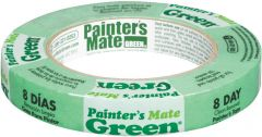 "Shurtape 103371 18mm x 55m (0.7"" x 60yd) Painter's Mate Green Masking Tape"