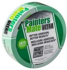 "Shurtape 104890 36mm x 55m (1.41"" x 60yd) Painter's Mate Green Ultra Masking Tape"