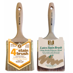 OIL STAIN BRUSH